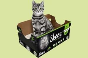 Skoon cat litter