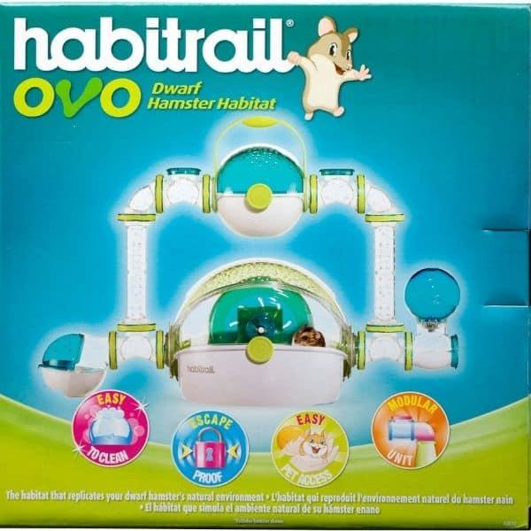 Habitrail OVO Dwarf Hamster Habitat, BlueWhite